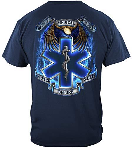 Thin Thin Red Line T Shirt - EMS Academy T-Shirts - First Responders -ADD-FF2082XXXL