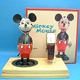 ディズニー ミッキー 70周年バースデーウォッチ ティントイ&腕時計セット 限定2500個 1998年 ぜんまいティントイは復刻版 未使用
