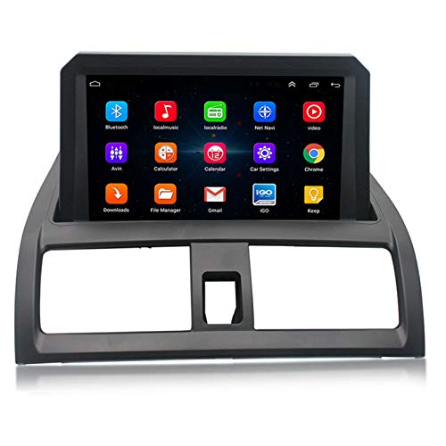 ADMLZQQ Android 10 Autoradio 2 DIN Car Stereo Coche GPS Navegacion para Honda Accord 7 2004-2007 Compatible con CD de Coche Original/Google Play/Mapa en línea DSP DVR Carplay,WiFi 1+32