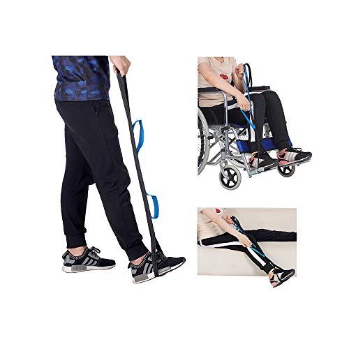 Elevadores de pierna y muslo Correa Movilidad Levantar piernas cinturón muslos en suministros y equipo Ayuda para adultos mayores discapacitados médicos Levantadores pies -silla de ruedas silla cama
