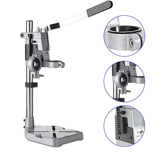 Best Review Of BoTaiDaHong Adjustable Household Double-hole Electric Drill Stand Kit For Woodworking