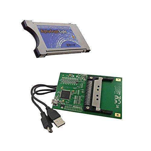 AlphaCrypt Light CI Modul Version R2.2 + HMP USB-CI Programmer f. Alphacrypt Module ( B&le )