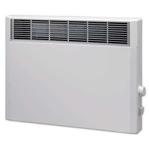 Elektroheizung, Heizkörper, Speicherheizung/Schamottespeicher mit integrierten Thermostat und Wandhalterung - 1500 Watt - Maße: (BxHxT): 56,5cm x 44,5cm x 8,5cm