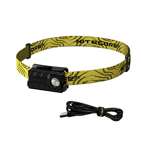Nitecore NU20 CRI 270 Lumens Rechargeable Lightweight LED Headlamp with Lumen Tactical Adapter and USB Cable