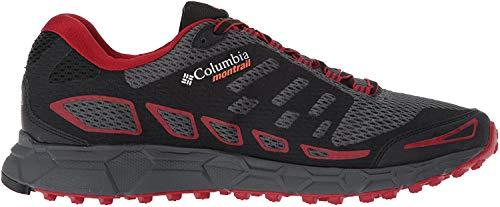 Columbia Bajada III, Zapatillas de Running para Asfalto para Hombre, Gris (Graphite, Tangy Orange 053), 43 EU