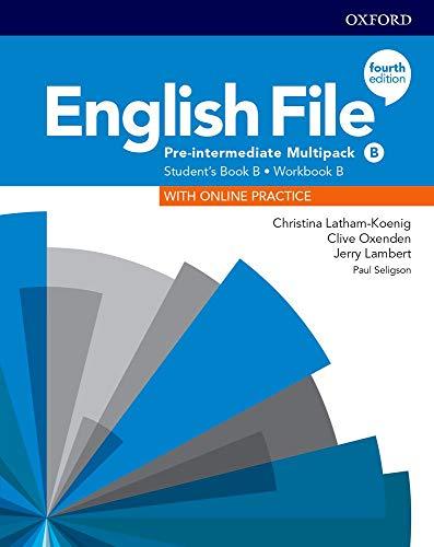English File 4th Edition Pre-Intermediate. Multipack