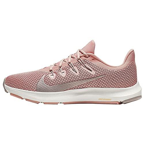 Nike Women's Quest 2 Running Shoes (Pink Quartz/Pumice, 10)
