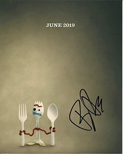 Firma de los sueños autógrafos Tony Hale firmó fotografía en color 10x8 - Toy Story 4 - Desarrollo arrestado - 100% en persona - UACC Registrado #242