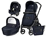 PÉG PEREGO ROCK NAVY LIMITED EDITION 2019+BASINET STAND OFFERT+SYSTÈME ANTI ABANDON