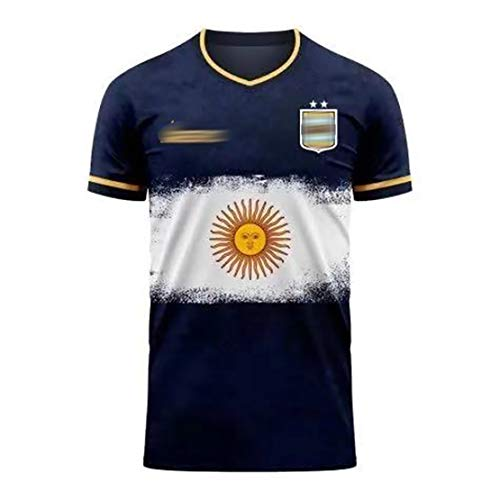 RFVBGT 2021 Argentina Rugby Jersey, Hogar and Away Concept Edition Rugby Camisetas, Uniforme de Rugby para Hombres, Lavable a máquina, Away-S