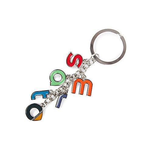 RACEFOXX Schlüsselanhänger, Anhänger, Schlüssel, Autoschlüssel, Buchstaben, Autoanhänger, Logo, für SMART Fahrer
