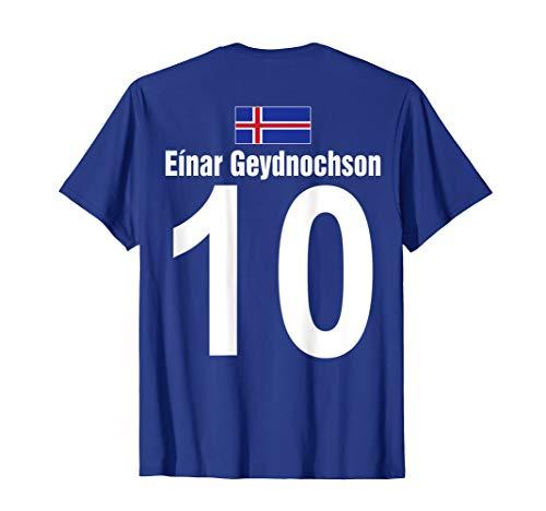 Lustiges Vatertag Island Sauf Trikot Mallorca Fußball Bier T-Shirt