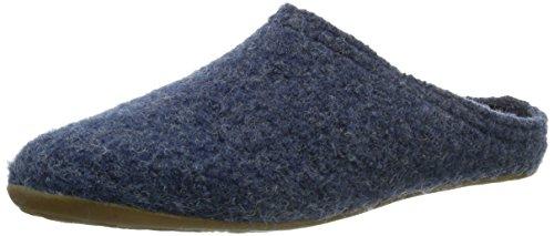 Haflinger Damen Everest Classic Pantoffeln, Blau (Jeans / 72), 41 EU