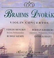 Brahms/Dvorak;Violin Concs.