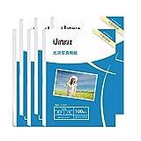 L判 写真用紙 光沢 インクジェット専用 - 超きれい 写真 L判 サイズ 厚手 0.230㎜ (L判- 600枚) Uinkit
