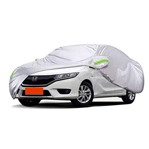 WYLZLIY-Home Cubierta de coche impermeable para todo tipo de clima, impermeable al aire libre, cubierta de polvo de nieve para todo tipo de clima, protección UV y protección solar