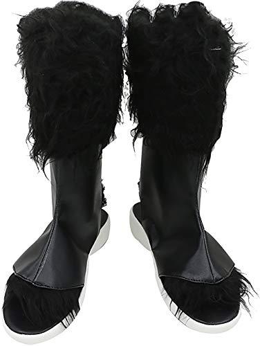 Cosplay Boots Boot Shoes Shoe for Demon Slayer Kimetsu No Yaiba Hashibira Inosuke