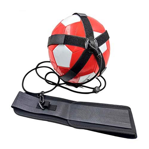 Entrenador De Patadas De Fútbol, Entrenador De Fútbol Manos Libres para Mejorar Las Habilidades De Fútbol con Cinturón Ajustable, Entrenamiento De Fútbol En Solitario