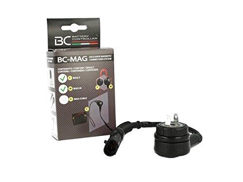 Kit di connessione magnetica per tutti i caricabatteria BC (12V max 15 Amp) - Coppia connettori BC MAG-M + BC MAG-F - Made in Italy