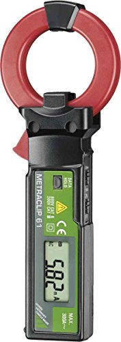 GMC-I Messtechnik Zangenmessgerät digital METRACLIP 61 Leckstromzange Zangenmessgerät 4012932116199