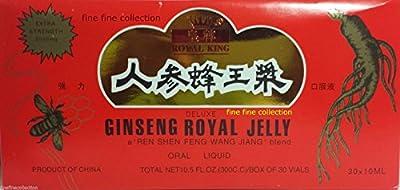 Ginseng Royal Jelly Extract (30 Vials per Box) 5 Boxes (5X)