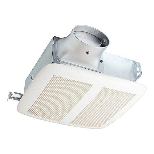 Nutone LPN80 LoProfile Energy Star Bathroom Fan 80 CFM, 1.1 Sone
