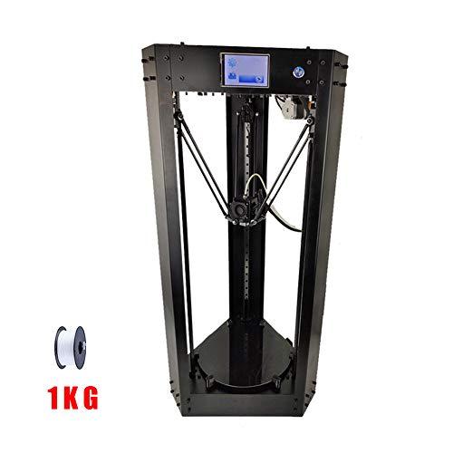 SZH Imprimante 3D, écran Tactile Haute définition 3,5 Pouces, Version WiFi améliorée, travaux Hors Tension, légers, consommables ABS, PLA, TPU, Fibre de Carbone, PETG, Taille d'impression (200X360)