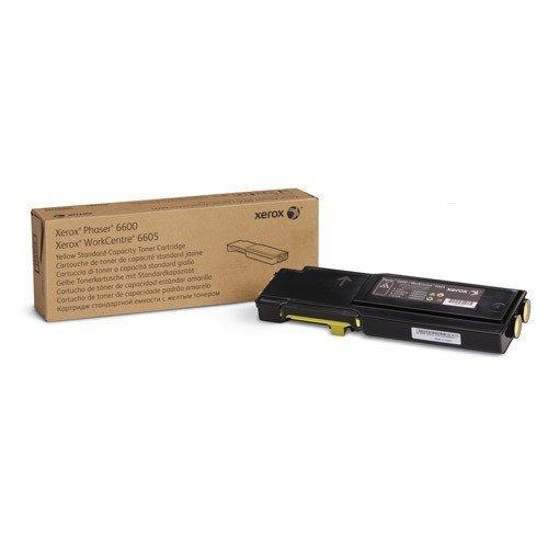 Xerox 106R02247 Phaser 6600 Cartuccia di toner a capacità standard (2000 pagine), colore giallo