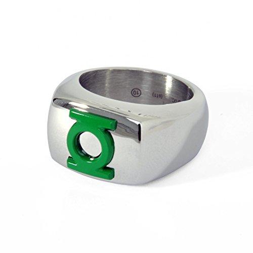 Green Lantern Logo Ring grün - 68