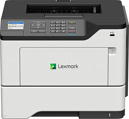 Lexmark B2650DW Monolaser (WLAN, LAN, bis zu 47 S./Min., autom. beidseitiger Druck) schwarz/grau