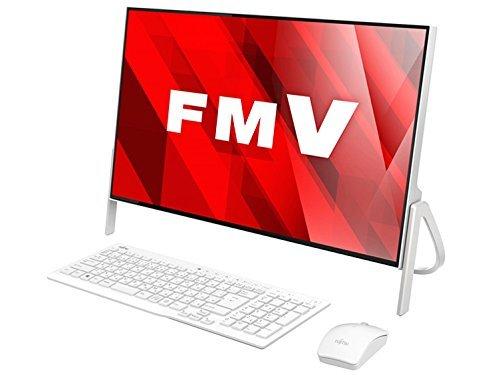 富士通 23.8型 デスクトップパソコンFMV ESPRIMO FH52/B2 スノーホワイト(Office Personal Premium プラス...