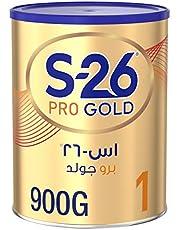 Wyeth Nutrition S26 Pro Gold Stage 1, 0-6 Months Premium Starter Infant Formula, 900g
