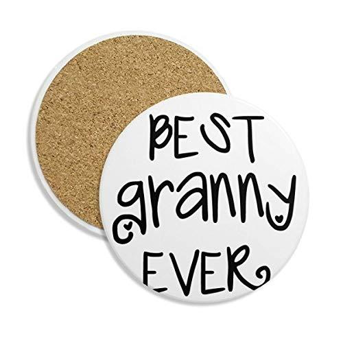 adesivo per auto con scritta Grandchild per decalcomania Grandparents World s Best Granny on Board cartello Segnale auto Baby Sign-Cartello auto-Signs nonno e nonna World Grannys Best Baby on Board
