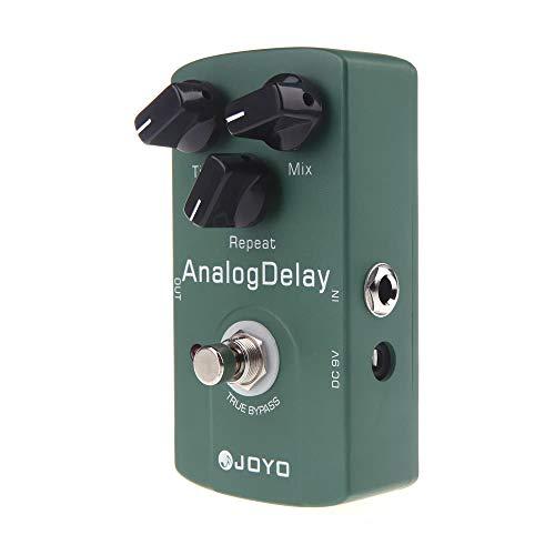 Taidallo El Efecto del Pedal Joyo JF-33 Analog Delay eléctrica Efecto de Guitarra Pedal True Bypass Soportes y componentes