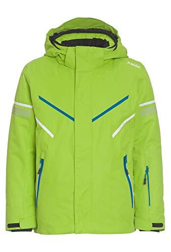 Vittorio Rossi Sportive Jungen Skijacke mit abknöpfbarer Kapuze grün,158/64