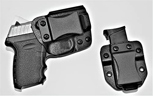 Krounds SCCY CPX 1/2 Holster and Magazine Belt Pouch Combo...