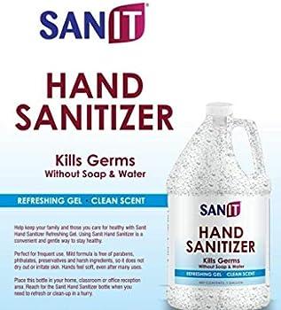 Regalia Alcohol Based Bulk Isopropyl Hand Sanitizer, 128 oz
