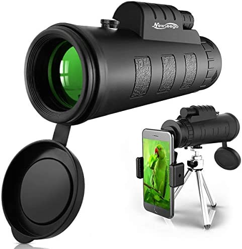 Newseego 50x60 Monocular Telescope High Power HD Monocular for Adults with Phone Holder Clip product image