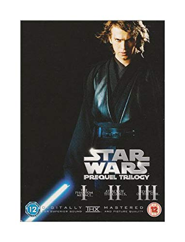 STAR WARS DVD PREQUEL TRILOGY ANAKIN SKYWALKER HMV EXCLUSIVE COVER.