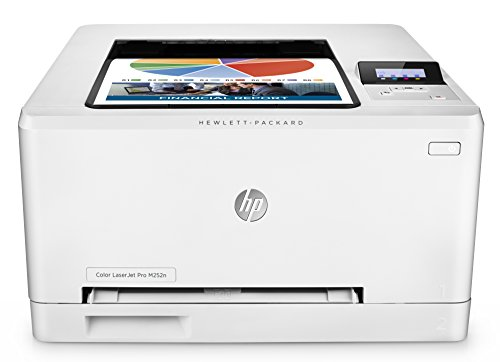 HP Color LaserJet Pro M252n Farb-Laserdrucker (Drucker, LAN, HP ePrint, Apple Airprint, USB, 600 x 600 dpi) weiß