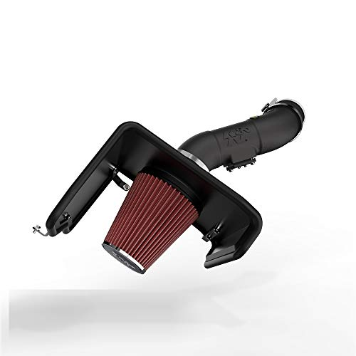 K&N Cold Air Intake Kit: High Performance, Increase Horsepower: Compatible with 2012-2019 Toyota Tundra 5.7L V8,63-9036
