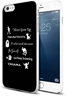 Disney Lessons Learned Iphone Case (iphone 6 plus white)