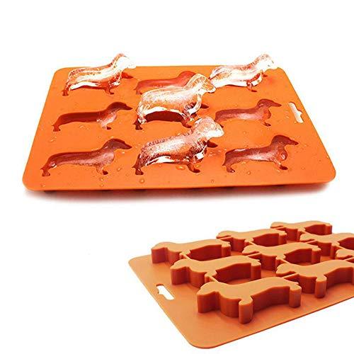 Ayomi Eiswürfelform, Eiswürfelschale süße Dackel