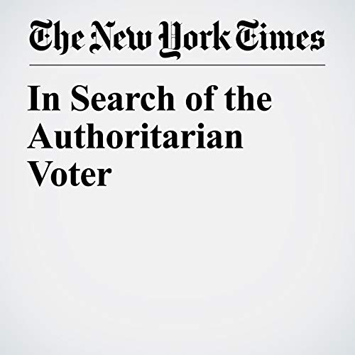 In Search of the Authoritarian Voter audiobook cover art