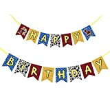 Toy Story Happy Birthday Banner Party Supplis for Kids Baby Shower Birthday Party Decoration