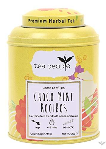 Tea People Choco Mint Rooibos Loose Tea Caddy 125g