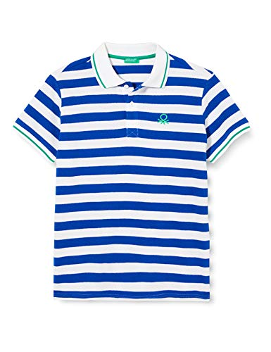 United Colors of Benetton Jungen Maglia Polo M/m Poloshirt, Mehrfarbig (Multicolore 905), 158 (Herstellergröße: EL)