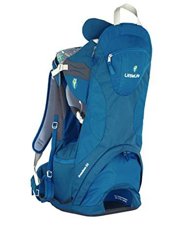 LittleLife Freedom S4 Child Carrier, Blue Kindertrage, One Size
