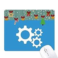 歯車の機械的構造 ゲーム用スライドゴムのマウスパッドクリスマス