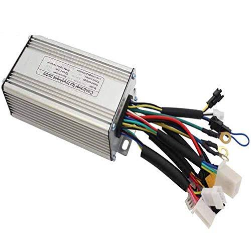 MXBIN 36V / 48V 500W Motor sin escobillas Controlador de par de...